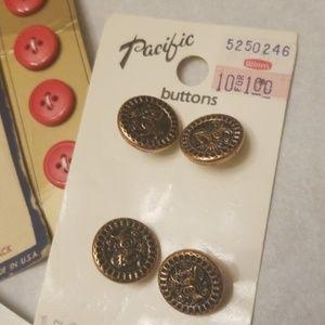 Vintage Office - Vintage Button Bundle